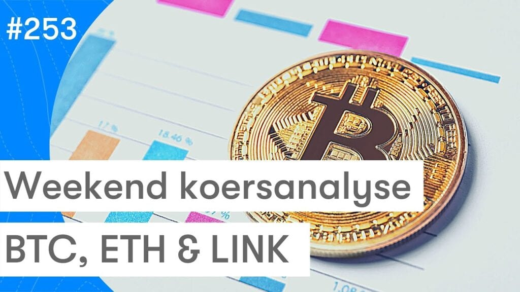 Bitcoin, Ethereum en Chainlink koers analyse vs goud, AEX en S&P 500