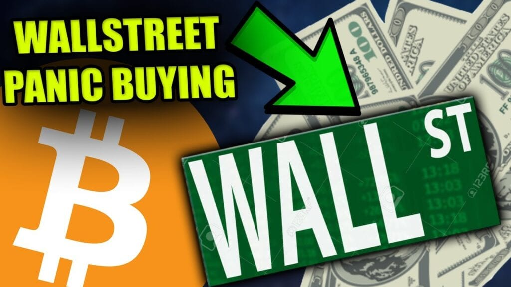 Bitcoin en Ethereum koers analyse - Wall Street koopt Bitcoin!